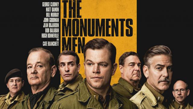 หนังใหม่เข้าโรง แอ็กชั่นสนุกๆ The Monuments Men 4K ตรงปก